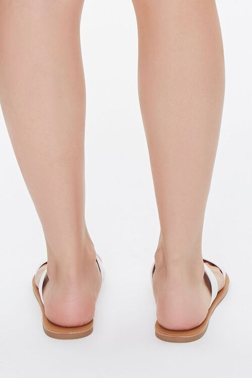 Faux Leather Strapped Sandals, image 3