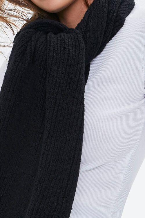 Brushed Knit Oblong Scarf, image 2