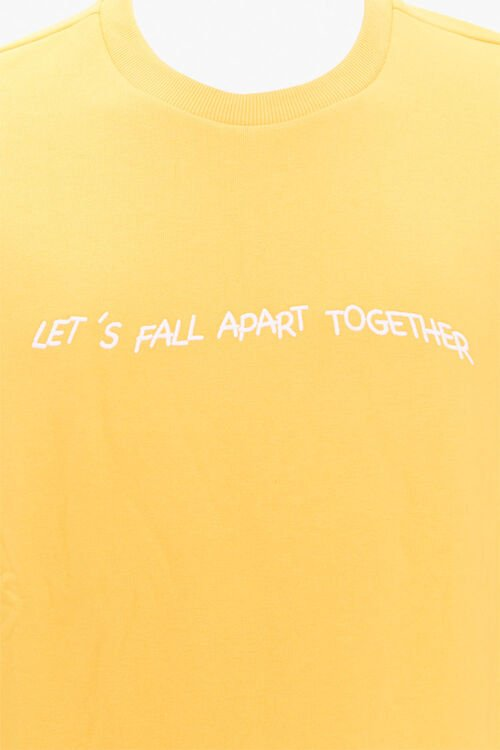 Fall Apart Embroidered Graphic Tee, image 3