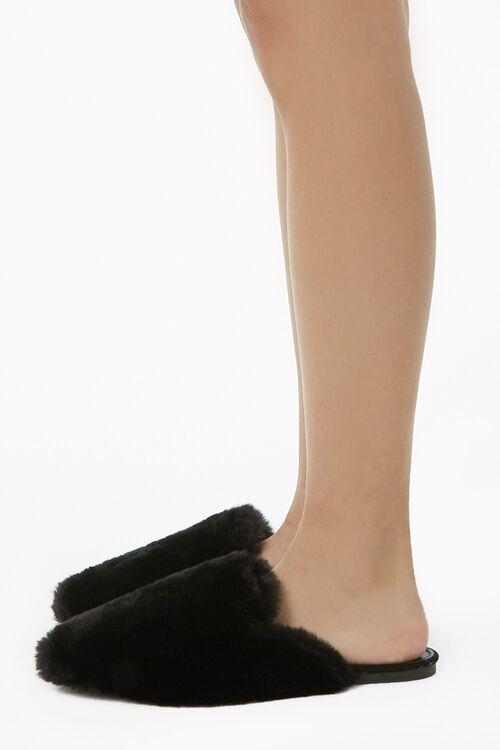 Faux Fur Flats, image 3