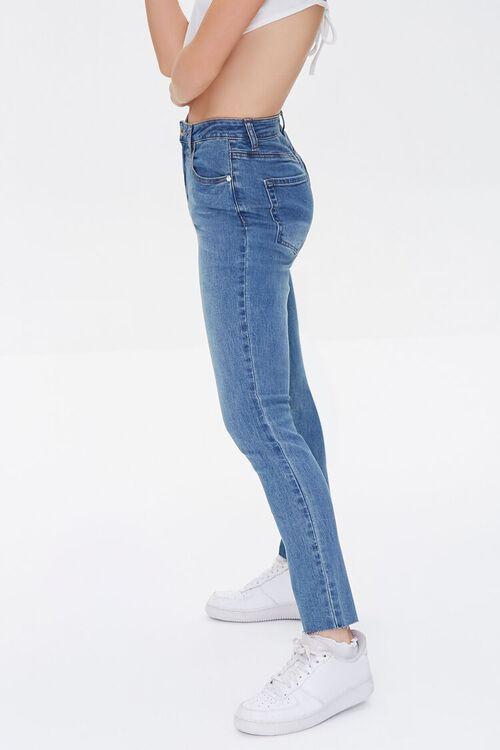 MEDIUM DENIM High-Rise Mom Jeans, image 3
