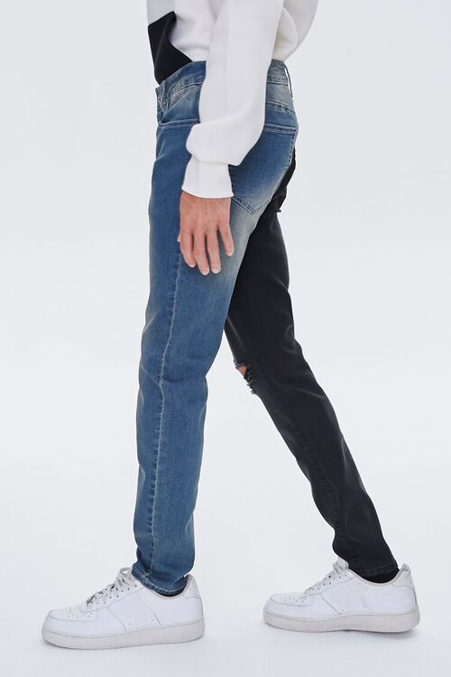 Colorblock Skinny Jeans, image 3
