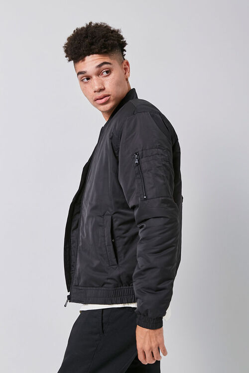 Zip-Up Bomber Jacket, image 2