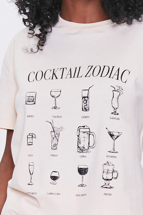Cocktail Zodiac Graphic Tee, image 5
