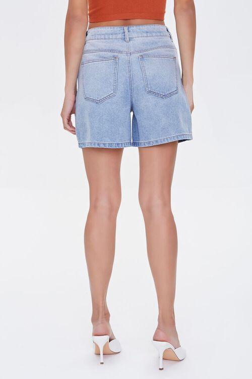 High-Rise Denim Shorts, image 4