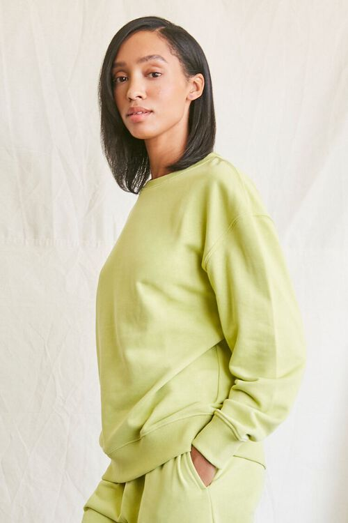 SAGE French Terry Crew Pullover, image 2