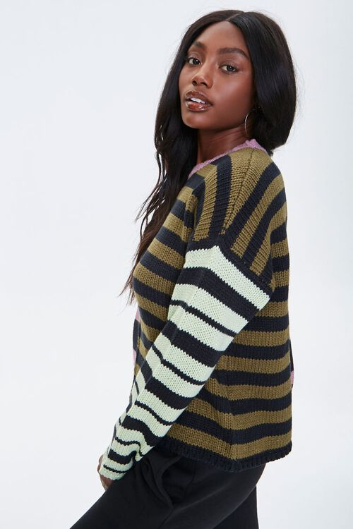 Reworked Striped Sweater, image 3