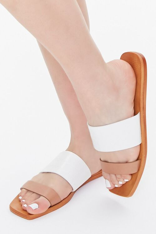 Square Dual-Strap Sandals, image 1