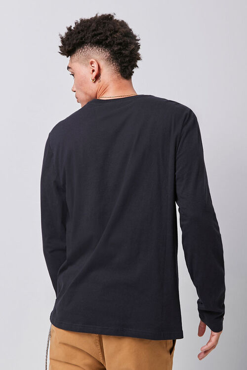 Long Sleeve Crew Neck Tee, image 3