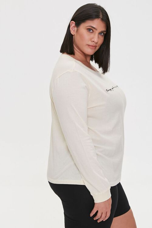 Plus Size Embroidered Bible Tee, image 2