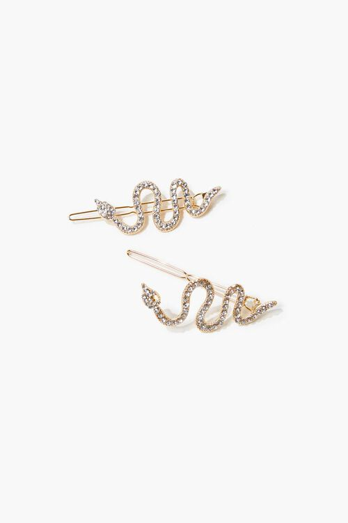 Rhinestone Hair Pin Set, image 1