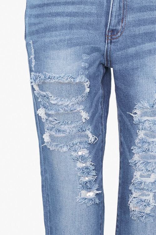 Distressed Ankle Jeans, image 4