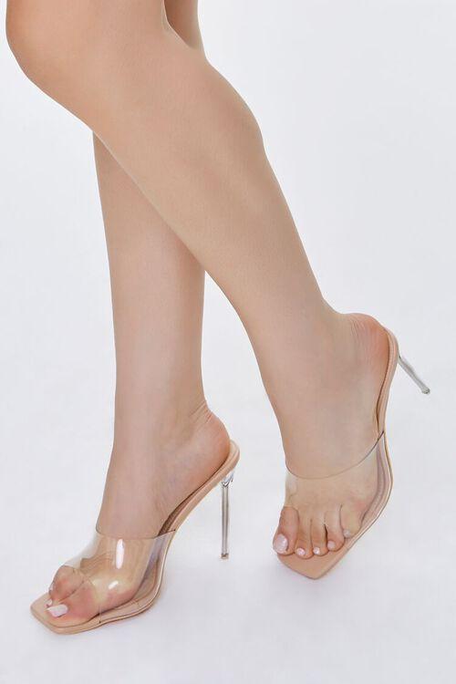 Translucent Lucite Stiletto Heels, image 5