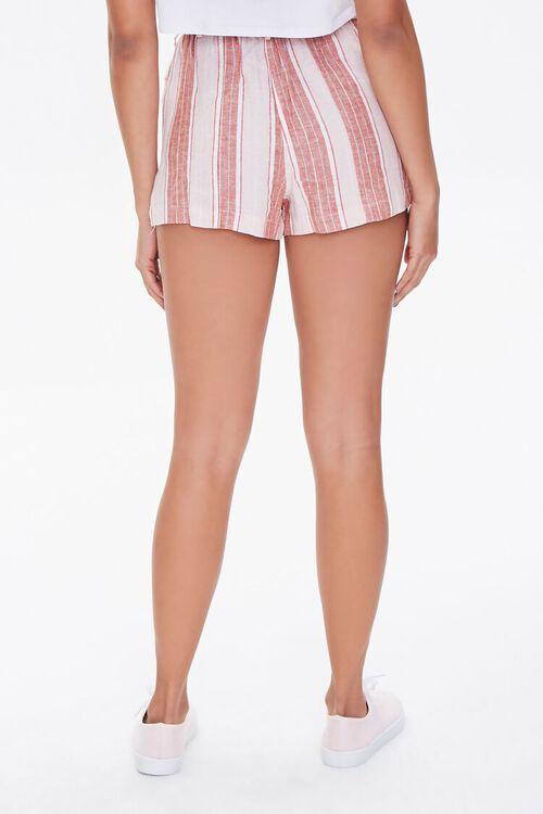 Striped Linen-Blend Shorts, image 4
