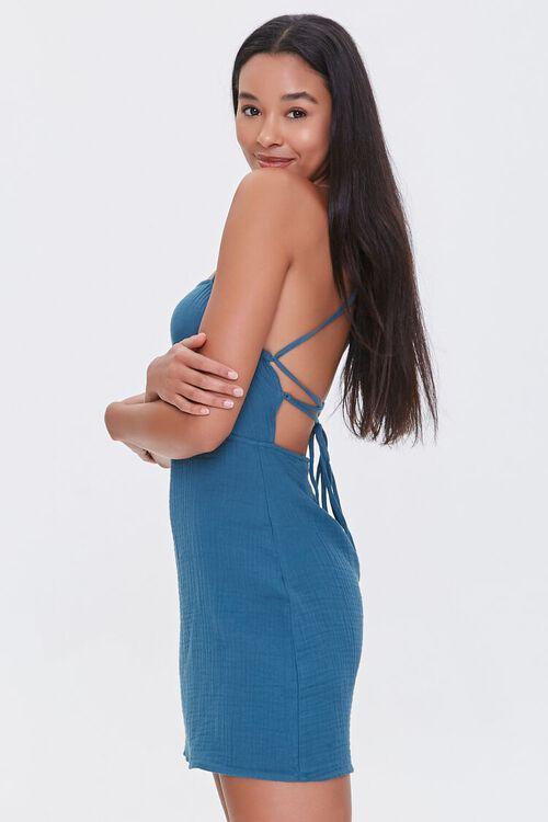 Crisscross-Back Mini Dress, image 2