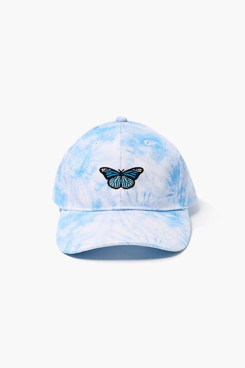Butterfly Embroidered Graphic Dad Cap, image 1
