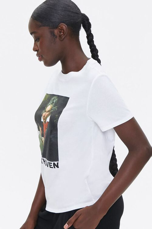 Organically Grown Cotton Beethoven Tee, image 2