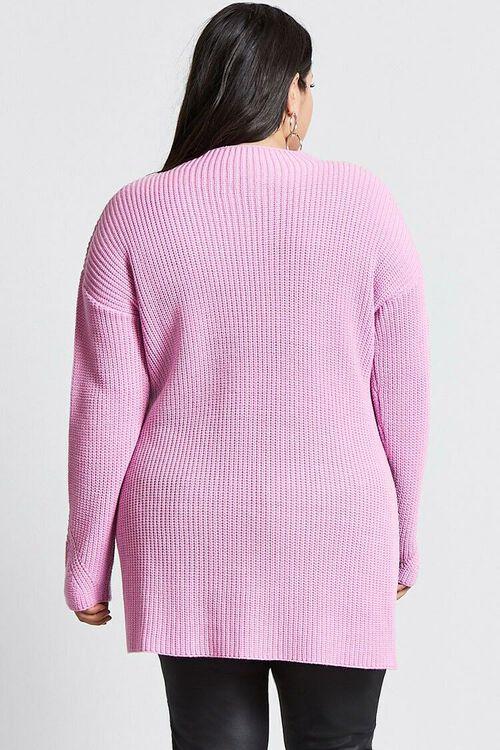 Plus Size Longline Sweater, image 3
