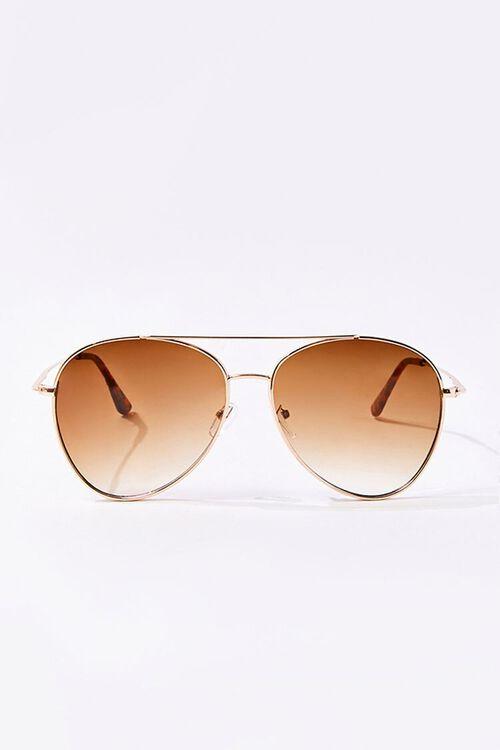 Men Tinted Aviator Sunglasses, image 1