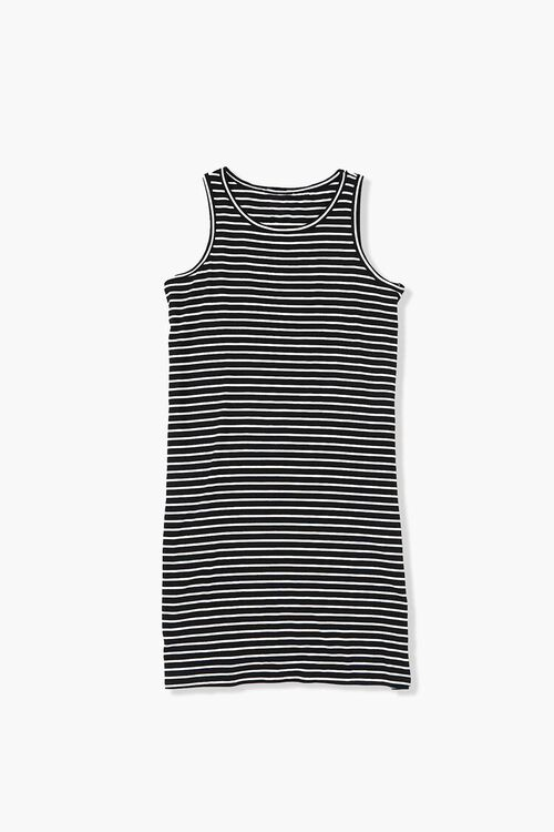 Girls Striped Tank Dress (Kids), image 1
