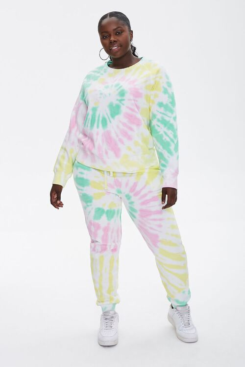 Plus Size Tie-Dye Sweatshirt, image 4