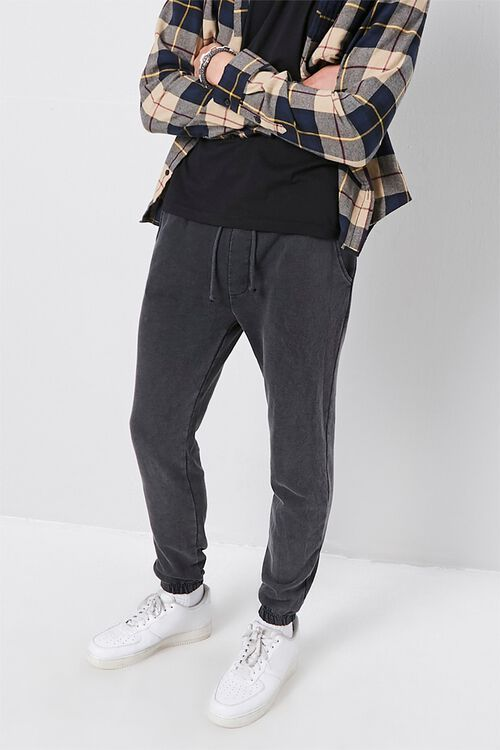 Slim-Fit Woven Joggers, image 1