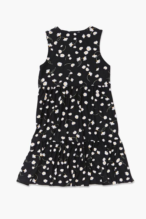 Girls Floral Sleeveless Dress (Kids), image 2