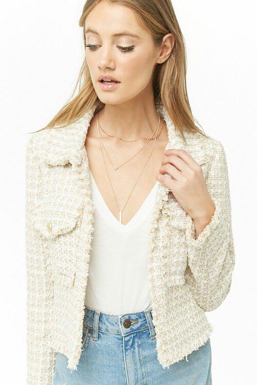 Metallic Tweed Jacket, image 1