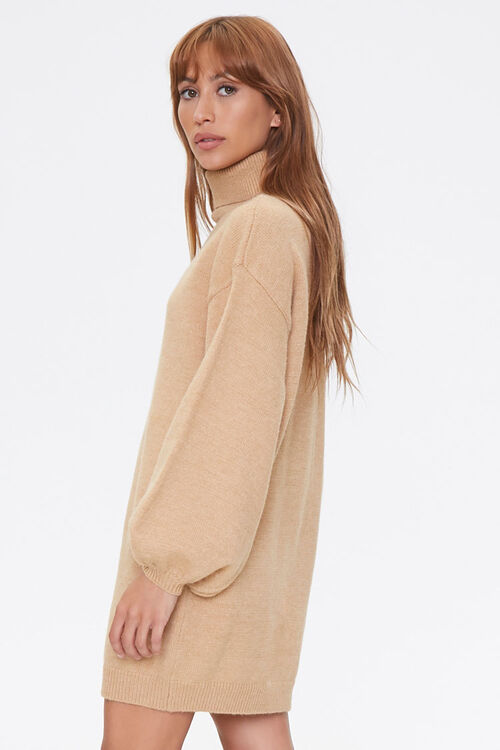 Turtleneck Sweater Dress, image 2