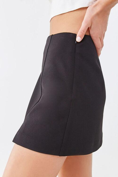 Crepe Mini Skirt, image 3