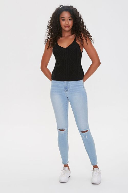 Cable-Knit Tank Top, image 4