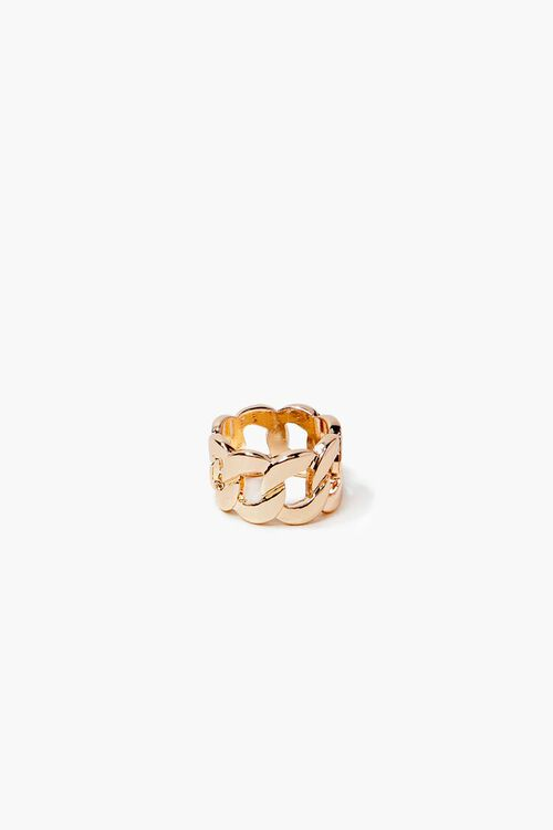 Chunky Curb Chain Ring, image 1