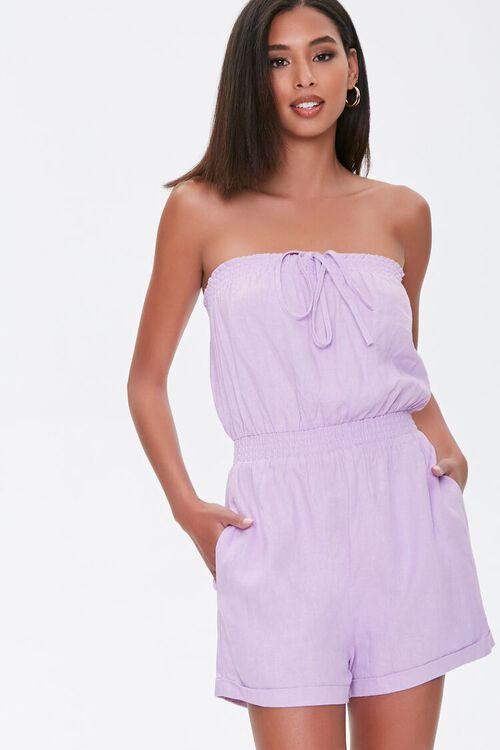 Kendall & Kylie Linen-Blend Romper, image 2