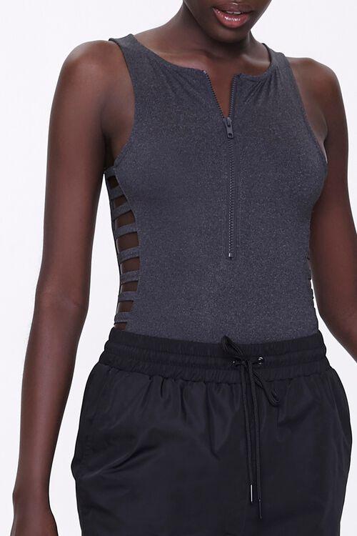 Active Caged Sleeveless Bodysuit, image 1