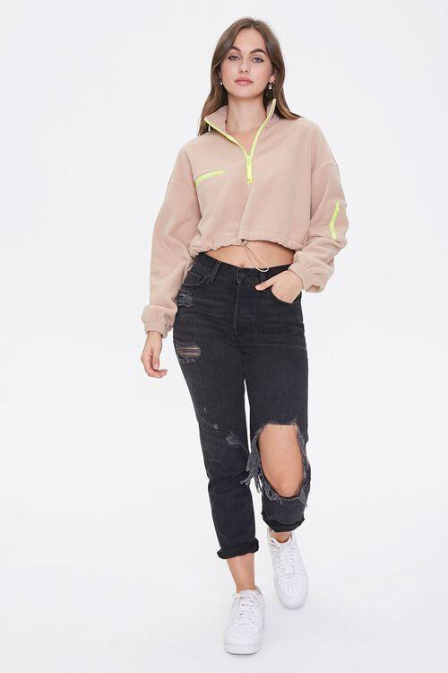Active Fleece Half-Zip Pullover, image 4