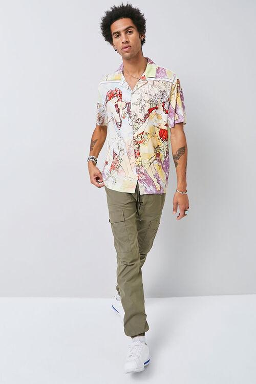 Alphonse Mucha Print Shirt, image 4