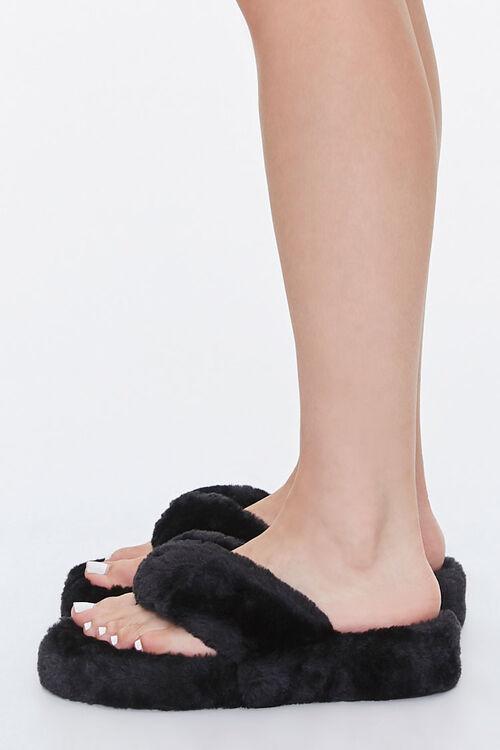 Plush Thong Slippers, image 2