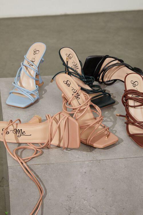 Wraparound Square-Toe Heels, image 1