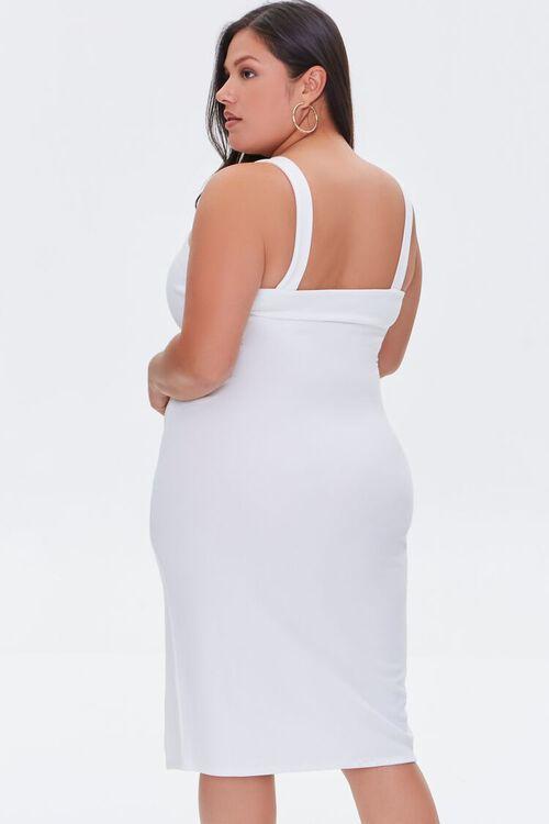 Plus Size Bodycon Slit Dress, image 3