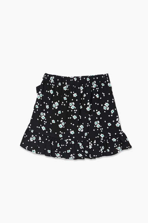 Girls Floral Print Skirt (Kids), image 2
