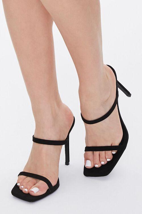 Faux Suede Stiletto Heels, image 1