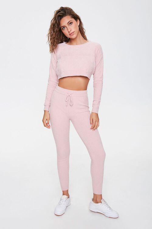 Terrycloth Pullover & Sweatpants Set, image 1