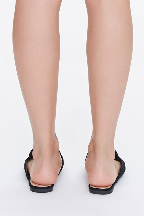 Pointed Faux Suede Mules, image 3