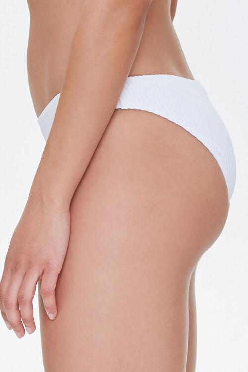 Ribbed Low-Rise Bikini Bottoms, image 3