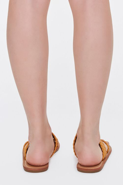 Braided Toe-Ring Flat Sandals, image 3