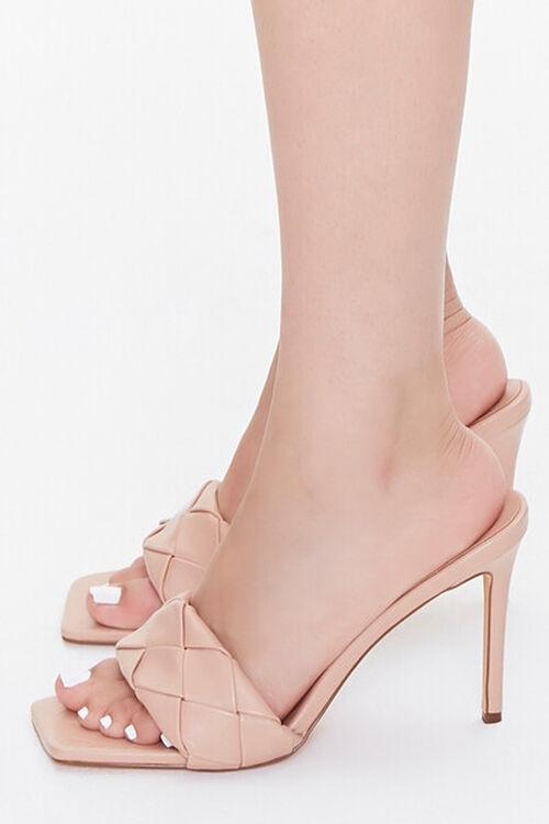 Crosshatch Square-Toe Stiletto Heels, image 2