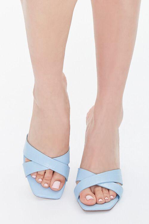Crisscross Square-Toe Heels, image 4