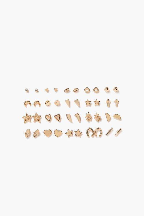 Star & Heart Assorted Stud Earring Set, image 1