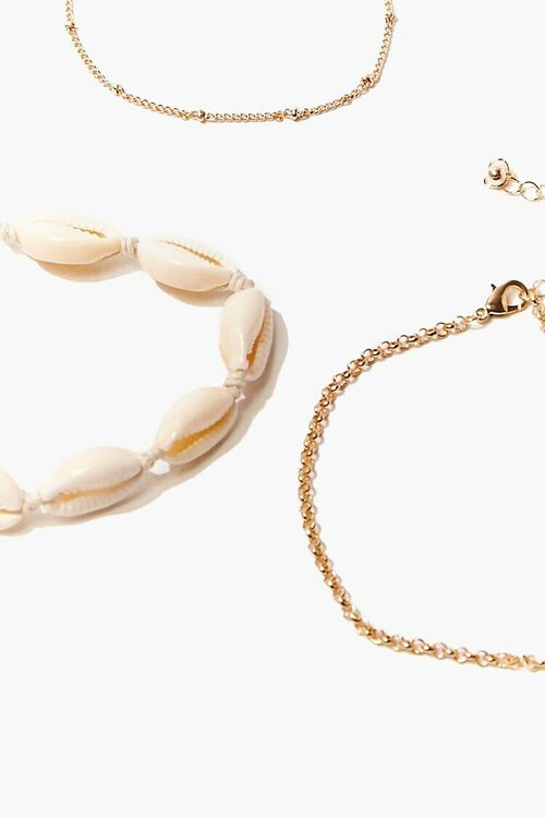 Cowrie Shell Anklet Set, image 4