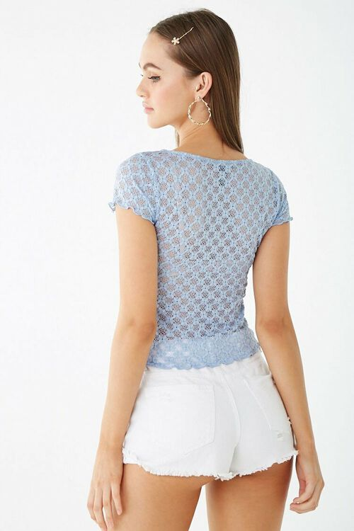 Sheer Lace Top, image 3